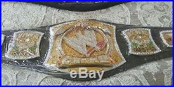 100% Authentic Wwe Spinner Replica Championship Title Belt. 4mm Metal Plates