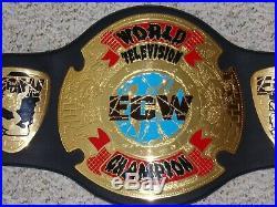 1999 ORIGINAL ECW WORLD TELEVISION TV CHAMPIONSHIP METAL ADULT REPLICA BELT wwe