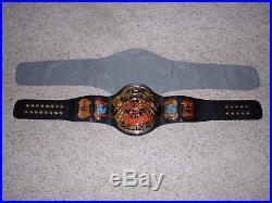 1999 TAZ VERSION ECW WORLD CHAMPIONSHIP METAL ADULT SIZE REPLICA TITLE BELT wwe