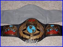 1999 WCW WORLD TAG TEAM CHAMPIONSHIP METAL ADULT SIZE REPLICA TITLE BELT wwe nwa