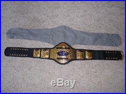 1999 WCW WORLD TELEVISION TV CHAMPIONSHIP METAL ADULT SZ REPLICA TITLE BELT wwe