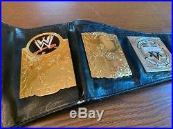2003 WWE World Tag Team Adult Metal Replica Title Championship Belt RARE