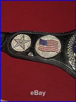 2004 Official WWE US John Cena Championship Belt! Metal! WWF Adult Size
