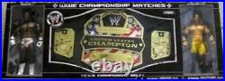 2006 Jakks Pacific WWE U. S. Championship Belt Matches Booker T Chris Benoit