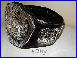 2008 Figures Toy Co. WWE ECW Championship Adult Commemorative Belt (#B476)
