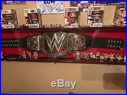 2013 WWE World Heavyweight Championship Replica Title Belt Scratch Logo Adult