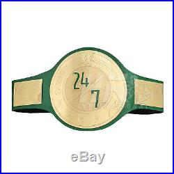24/7 Title WWE WWF Champion Wrestling Belt 2MM Brass Best Championship Replica