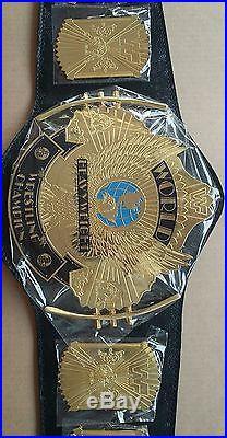 2 Pcs WWE/WWF Classic Gold Winged Eagle Championship replica Belt Adult 2x