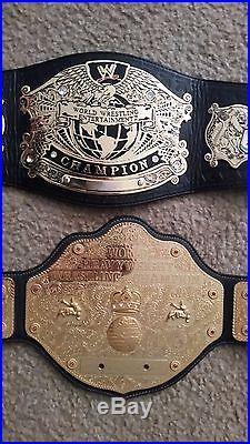 2 WWE Undisputed Championship and World Heavyweight Championship Belt Kids Size
