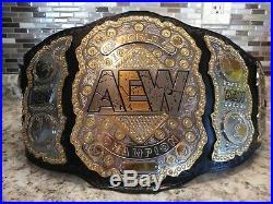 AEW All Elite Wrestling Heavyweight Championship Replica Belt WWE FAST SHIPPING