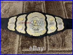 AEW WORLD WRESTLING Championship Belt. Adult Size. Dual plated