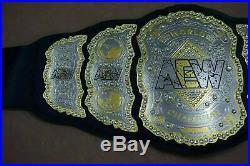 AEW World Wrestling Championship Replica Leather Belt