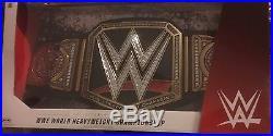 AJ Styles signed WWE Championship authentic replica belt autographed Tna Cena