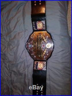 AWA Inmate Wrestling Championship Title Belt (WWE, WWF, NWA, WCW, IWGP, TNA, WCCW)
