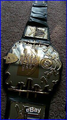 AWA official Figures Inc Replica Championship Belt WWE WWF WCW