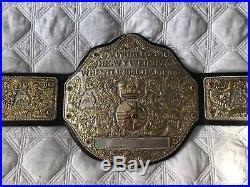 Adult Replica Belt Fandu Big Gold Championship WCW WWF WWE