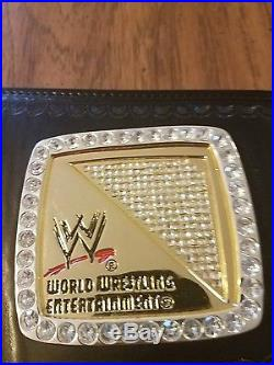 Adult Replica WWE Title Spinner Wrestling Championship Belt