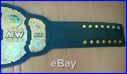 Aew World Championship Belt Wwf Belt Wcw World Wrestling Belt Adult Replica Belt
