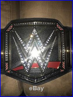 Aj Styles Signed WWE World Heavyweight Championship Collectible Title Belt Proof