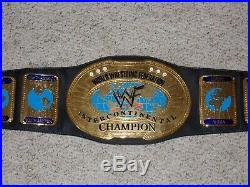 Authentic 2001 Wwf Intercontinental Championship Metal Adult Replica Wwe Belt