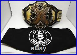 Authentic NXT WWE Heavyweight Championship Title Belt Adult Replica with Bag