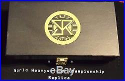 Authentic WWE Championship Replica Title Belt (2014) /w Seth Rollins Plates