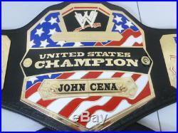 Authentic WWE John Cena US Title Championship Belt with case