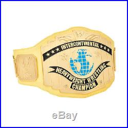 Authentic WWE Yellow Intercontinental Championship Replica Belt Ultimate Warrior