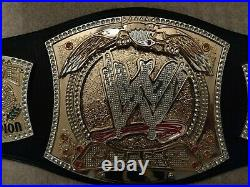 Autographed by John Cena, Authentic WWE Championship Master replica Spinner Belt
