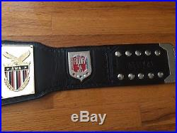 Awa Full Size World Wrestling Championship Belt