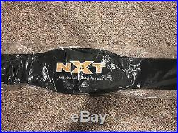 BRAND NEW NXT CHAMPIONSHIP ADULT REPLICA TITLE BELT NAKAMURA BALOR ROODE wwe