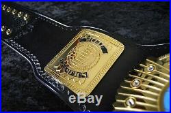 BRAND NEW REAL World Championship belt. Made by WWE beltmakers Leather Rebels