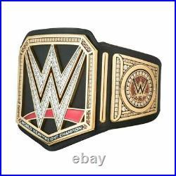 B/N WWE BLACK Universal Championship Belt Adult Size Wrestling Replica Title