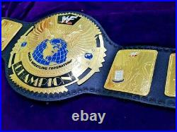 Big Eagle Scratch Logo Wrestling Championship Belt Adult Size Replica 2mm Brass