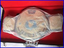 Big Eagle Wwe/wwf New Attitude Era Wrestling Championship Leather Belt