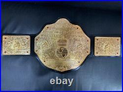Big Gold Crumrine Heavy weight Championship belt REPLICA 4 MM