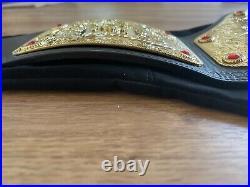 Big Gold WWE World Heavyweight Championship Wrestling Adult Size Replica Belt