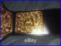 Big Gold Wwe/wwf/wcw World Heavyweight Championship Adult Belt Replica