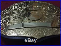 Big Gold Wwe/wwf/wcw World Heavyweight Championship Adult Belt Replica