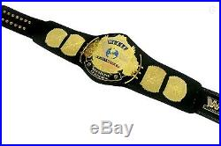Brand New WWF/WWE Winged Eagle Championship Gold Plated Title Belt 2mm Plates
