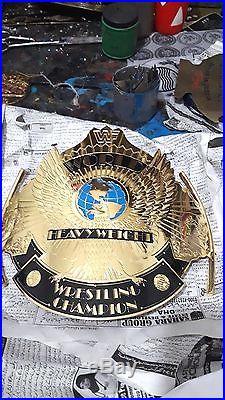 Championship Wwe Wwf World Heavy Weight Championship Leather Belt