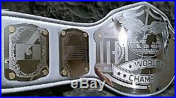CLEARANCE! GOLD ACCENTS World Championship Belt Emperor Silver wwe wwf wcw roh