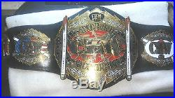 CZW World Heavyweight Championship Wrestling Belt Real Leather WWE WWF Replica
