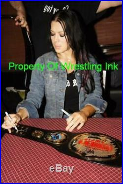 Chyna Wwe Authentic Womens Championship Belt Signed Autograph Psa/dna Coa