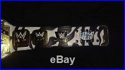 Custom WWE Dolph Ziggler Releathered Intercontinental Replica Championship Belt