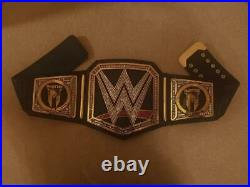 Drew Mcintyre Heavyweight Championship Belt Replica Real leather