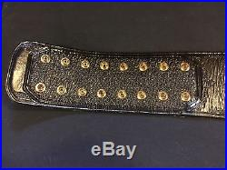 ECW Replica Championship Wrestling Title Belt Real Leather WWE TNA ROH