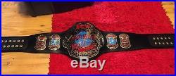 ECW WORLD CHAMPIONSHIP METAL ADULT SIZE REPLICA TITLE BELT WWE Authentic