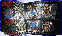 ECW WORLD HEAVYWEIGHT belt CHAMPIONSHIP BELT OFFICIAL WWE Adult Belt