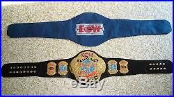 ECW World Heavyweight Championship Adult Replica Belt wwe tna Auto Cena HHH